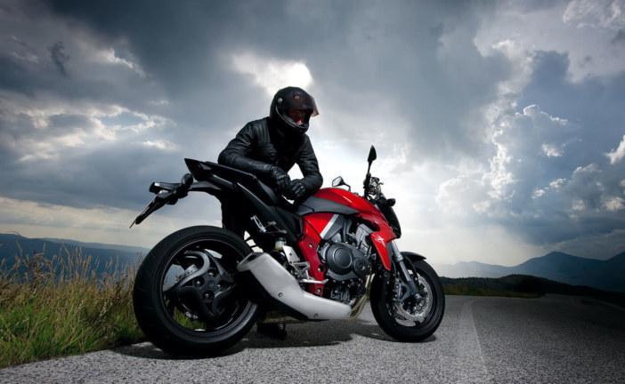 تاجر دراجة نارية